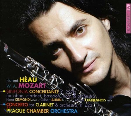 Florent Heau 모차르트: 클라리넷 협주곡, 신포니아 콘체르탄테 (Mozart: Sinfonia Concertante K.297b, Concerto for Clarinet & Orchestra K.622)