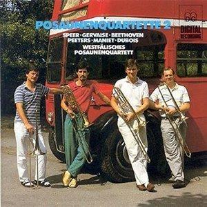 Westfalisches Posaunenquartett / Posaunenquartette 2 (Trombone Quartets 2) (수입/MDGL3295)