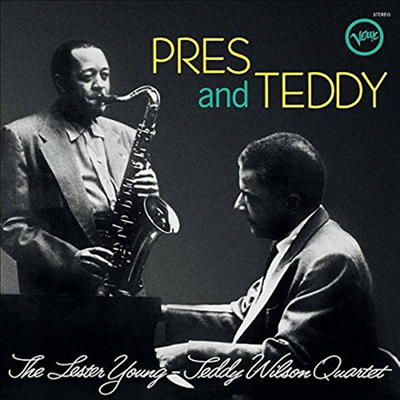 Lester Young & Teddy Wilson - Pres & Teddy (Remastered)(Limited Edition)(180g Audiophile Vinyl LP)(Back To Black Series)(MP3 Voucher)
