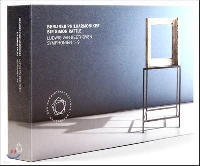 Simon Rattle 베토벤: 교향곡 전곡집 - 사이먼 래틀 (Beethoven: Symphony Nos.1-9)