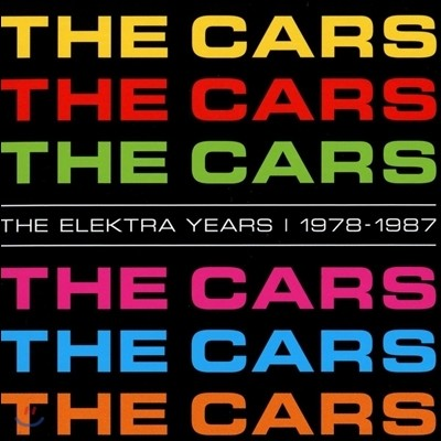 The Cars - The Elektra Years Complete Album Box (Deluxe Edition)