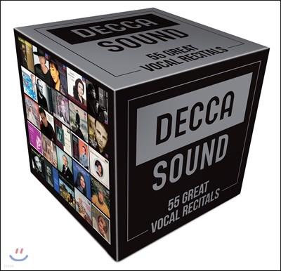 데카 사운드 - 성악 리사이틀 베스트 55 (The Decca Sound - 50 Great Vocal Recitals)