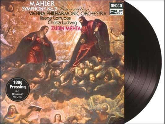 Zubin Mehta 말러: 교향곡 2번 '부활' (Mahler: Symphony No.2 Resurrection) 주빈 메타, 빈 필하모닉, 코트루바스, 크리스타 루드비히