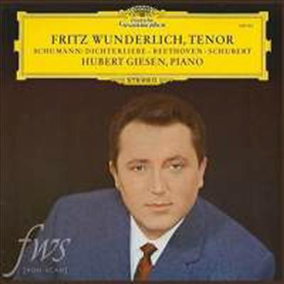 분덜리히가 노래하는 베토벤, 슈베르트 & 슈만: 가곡집 (Fritz Wunderlich - Beethoven, Schubert & Schumann: Lied) (180g)(LP) - Fritz Wunderlich