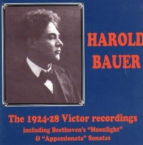 [미개봉] Harold Bauer / The 1924-1928 Victor Recordings (수입/미개봉/LHW007)