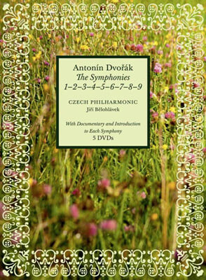 Jiri Belohlavek 드보르작: 교향곡 1-9번 전곡집 [다큐멘터리와 해설 포함] (Dvorak: The Symphonies Edition)