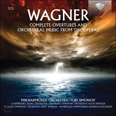 Yuri Simonov 바그너: 오페라 서곡과 관현악곡 전집 (Wagner: Complete Overtures and Orchestral Music from the Operas)