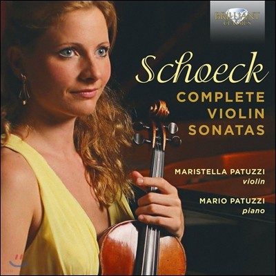 Maristella Patuzzi 오트마르 쇠크: 바이올린 소나타 전집 (Othmar Schoeck: Complete Violin Sonatas) 마르티스텔라 파투치