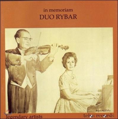 Peter Rybar 페터 라이바 에디션 1집 - 나르디니 / 모차르트 / 드뷔시 / 슈만 / 드보르작 (In Memoriam Duo Rybar - Nardini / Mozart / Debussy / Schumann / Dvorak)