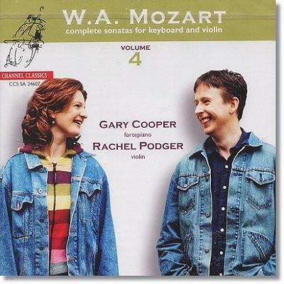 모차르트 : 바이올린 소나타 4집 - 레이첼 포저 (SACD)