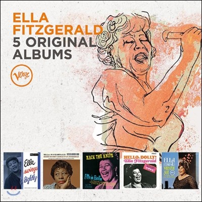 Ella Fitzgerald (엘라 피츠제랄드) - 5 Original Albums with Full Original Artwork, Vol. 1