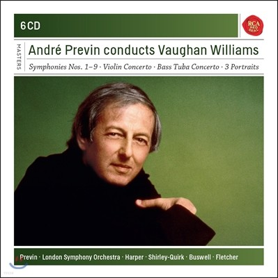 Andre Previn 본 윌리암스: 바다, 교향곡 전곡, 바이올린 협주곡  - 앙드레 프레빈 (Conducts Vaughan Williams)