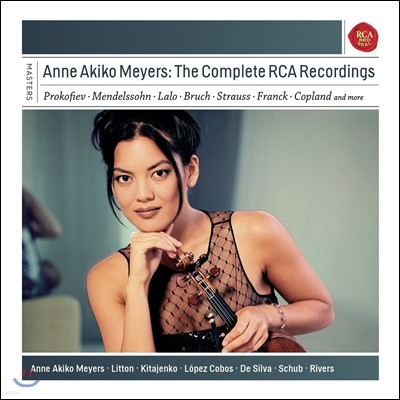 Anne Akiko Meyers 앤 아키코 메이어스 RCA 녹음 전곡집 (The Complete RCA Recordings)
