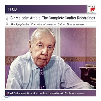 Vernon Handley 말콤 아놀드 작품 전곡집 (Malcolm Arnold: The Complete Conifer Recording) 버논 핸들리, 로얄 필하모닉, 리차드 왓킨스, BBC 콘서트 오케스트라