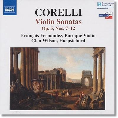 코렐리 : 바이올린 소나타 Op.5 Nos.7-12 (라 폴리아 포함)