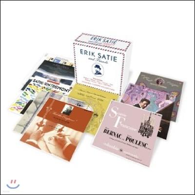 에릭 사티와 친구들: 드뷔시 / 포레 / 라벨 / 생상스 / 미요 / 풀랑크 / 이베르 [오리지널 앨범 컬렉션] (Erik Satie & Friends: Debussy / Faure / Ibert / Milhaud / Poulenc / Ravel / Saint-Saens / Chabrier)