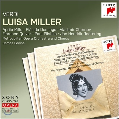 Aprile Millo / Placido Domingo / James Levine 베르디: 오페라 '루이자 밀러' (Verdi: Luisa Miller) 에이프릴 밀로, 플라시도 도밍고, 제임스 레바인