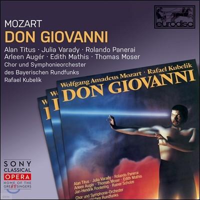 Alan Titus / Julia Varady / Rafael Kubelik 모차르트: 돈 조반니 (Mozart: Don Giovanni, K527)
