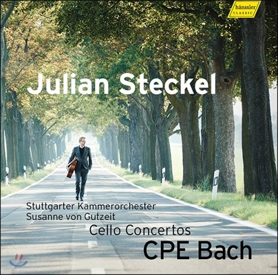 Julian Steckel 칼 필립 엠마누엘 바흐: 첼로 협주곡 Wq.170, 171, 172 (C.P.E. Bach: Cello Concertos) 율리안 슈테켈, 슈투트가르트 체임버 오케스트라