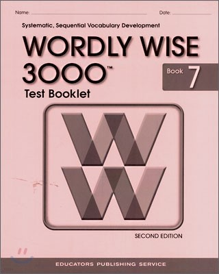 Wordly Wise 3000 : Book 7 Test Booklet (2nd Edition)