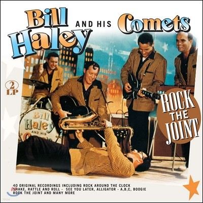 Bill Haley & His Comets (빌 헤일리 앤 히즈 코메츠) - Rock the Joint [2 LP]