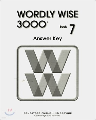 Wordly Wise 3000 : Book 7 Answer Key (2nd Edition)
