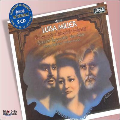 Luciano Pavarotti 베르디: 루이자 밀러 (Verdi: Luisa Miller)