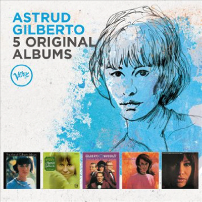 Astrud Gilberto - 5 Original Albums (With Full Original Artwork) (5CD Box Set)(Digipack)