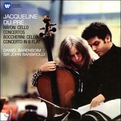 Jacqueline du Pre 하이든 / 보케리니: 첼로 협주곡 - 자클린 뒤 프레, 존 바비롤리, 바렌보임 (Haydn / Boccherini: Cello Concertos)