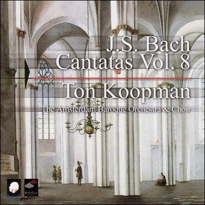 Ton Koopman 바흐: 칸타타 8집 (Bach: Complete Cantatas Vol. 8)