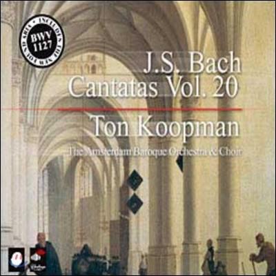Ton Coopman 바흐: 칸타타 전곡 20집 (Bach: Complete Cantatas Vol. 20) 톤 쿠프만