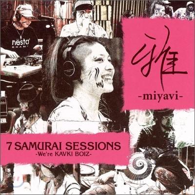 Miyavi (미야비) - 7 Samurai Sessions (We're KAVKI BOIZ) 한정판