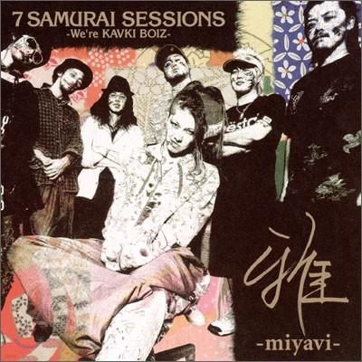 Miyavi (미야비) - 7 Samurai Sessions (We're KAVKI BOIZ) 일반판