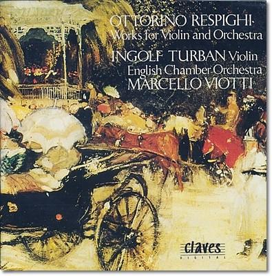 레스피기 : 비탈리의 샤콘느의 주제 변주곡, 콘체르토 아 친크