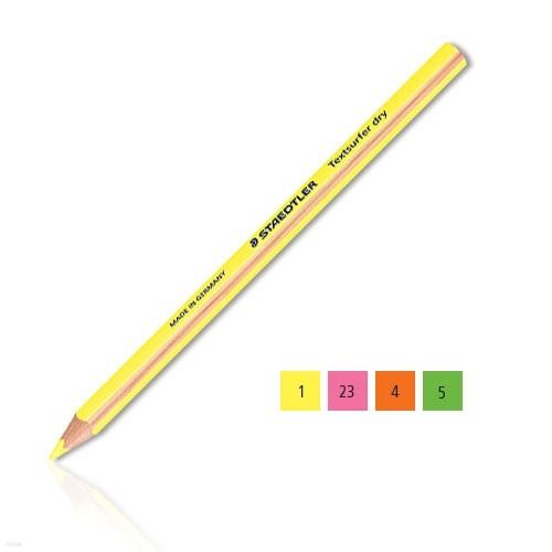 [알앤비]스테들러 Textsurfer 128 64 형광 색연필-4가지색상 낱색