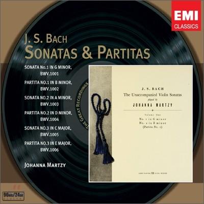 바흐 : 무반주 바이올린 소나타와 파르티타 - 요한나 마르치
