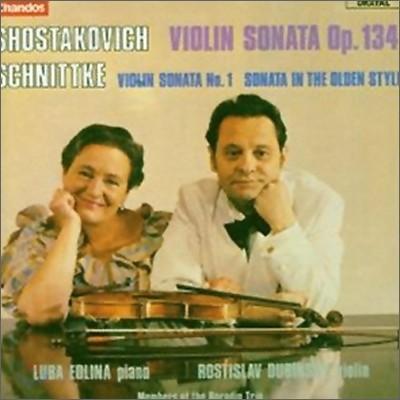 쇼스타코비치 / 쉬니트케 : 바이올린 소나타 OP.134 / 바이올린 소나타 1번
