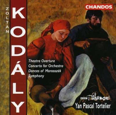코다이 : 교향곡, 서곡, 관현악을 위한 협주곡