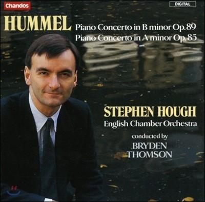 Stephen Hough 훔멜: 피아노  협주곡 (Johann Nepomuk Hummel: Piano Concertos)
