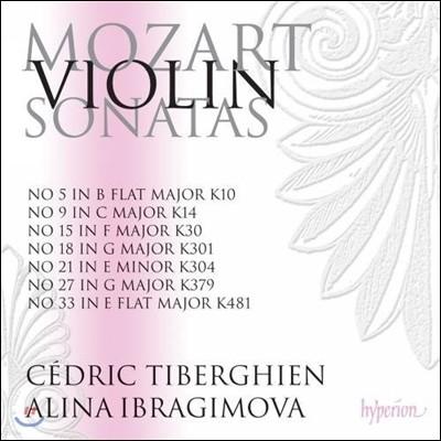 Alina Ibragimova 모차르트: 바이올린 소나타 1집 - 알리나 이브라기모바 (Mozart: Violin Sonatas K. 10 14 30 301 304 379 491)