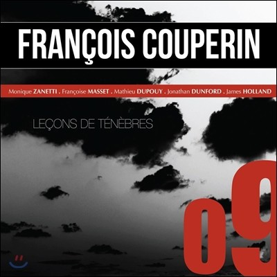 Monique Zanetti 쿠프랭: 르송 드 테네브르 / 캉프라: 칸타테 도미노 (Couperin: Lecons de Tenebres, Messe pour les Convents / Campra: Cantate Domino)
