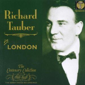 [미개봉] Richard Tauber / 런던의 리하르트 타우버 (Richard Tauber in London [The Centenary Collection]) (수입/미개봉/SBT1006)