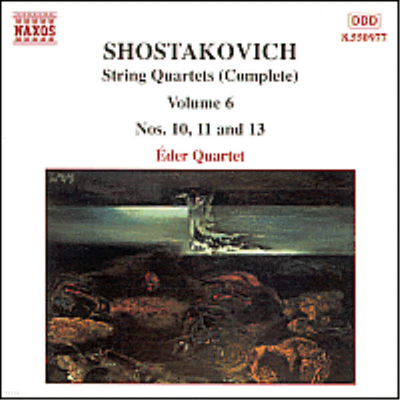 쇼스타코비치 : 현악 사중주 (Shostakovich : String Quartets Vol.6 - No.10 Op.118, No.11 Op.122, No.13 Op.138) - Eder Quartet