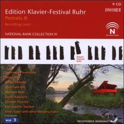 루르 피아노 페스티벌 19집 [2007년] - 피아니스트의 초상 3집 (Edition Klavier-Festival Ruhr - Portraits III)