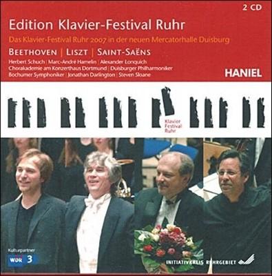 루르 피아노 페스티벌 18집 [2007년] - 베토벤 / 리스트 / 생상스 (Edition Klavier-Festival Ruhr - Beethoven / Liszt / Saint-Saens)