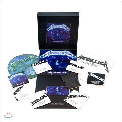Metallica (메탈리카) - Ride The Lightning [4LP+6CD+1DVD 2016 Remastered Deluxe Box Set]