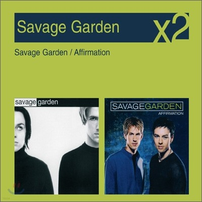 [YES24 단독] Savage Garden - Savage Garden + Affirmation (New Disc Box Sliders Series)
