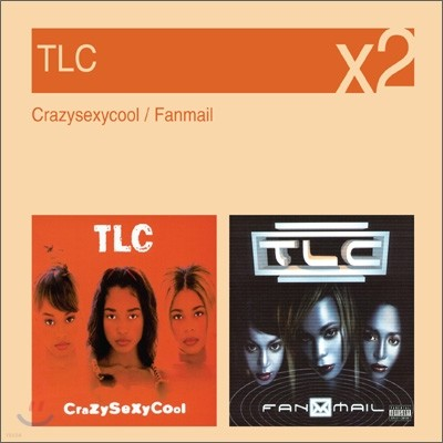 [YES24 단독] TLC - Crazysexycool + Fanmail (New Disc Box Sliders Series)