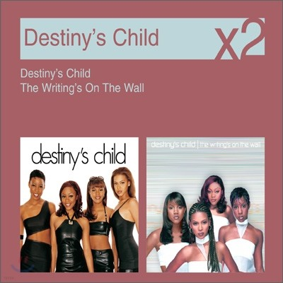 [YES24 단독] Destiny's Child - Destiny's Child + Writing's On The Wall (New Disc Box Sliders Series)