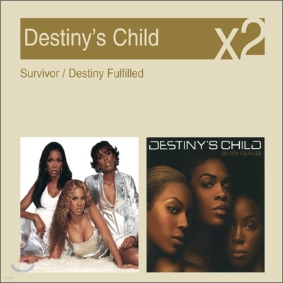[YES24 단독] Destiny's Child - Survivor + Destiny Fulfilled (New Disc Box Sliders Series)